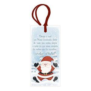 Placa-TAG-MDF-Decorativa-Natal-Litoarte-DHTN-011-143x7cm-Papai-Noel