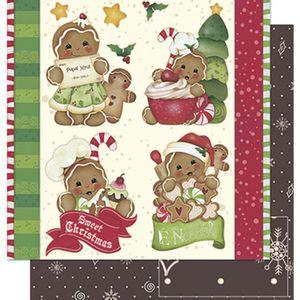 Papel-Scrapbook-Natal-Litoarte-305x305cm-SDN-034-Biscoitos-Natalinos