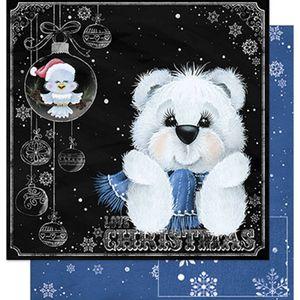 Papel-Scrapbook-Natal-Litoarte-305x305cm-SDN-040-Urso
