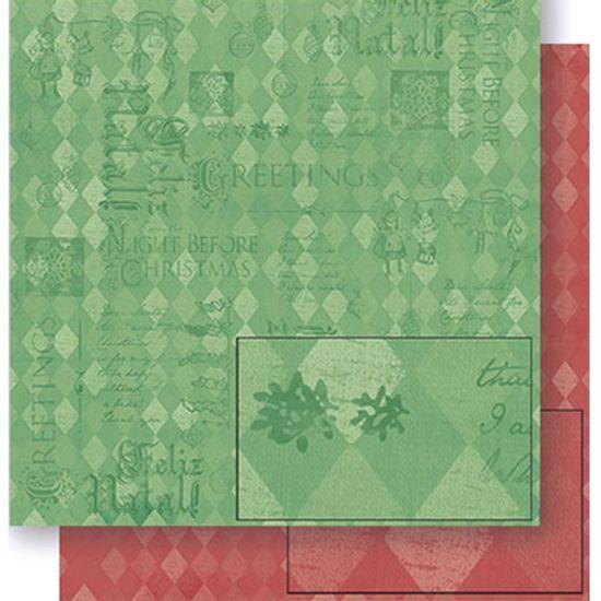 Papel-Scrapbook-Natal-Litoarte-305x305cm-SDN-063-Losangos-Vermelho-e-Verde