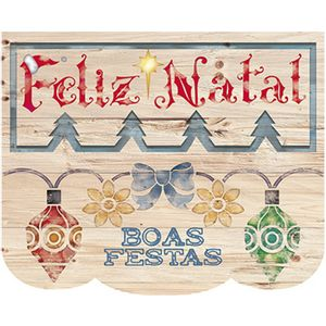 Stencil-Litoarte-Natal-172x21cm-Pintura-Simples-STMN-070-Barrado-de-Bolas-Boas-Festas