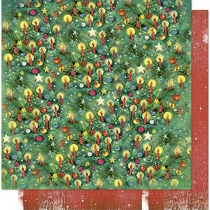 Papel-Scrapbook-Natal-Litoarte-305x305cm-SDN-087-Padrao-Natalino-Bolinhas-e-Velas