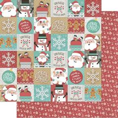 Papel-Scrapbook-Natal-Litoarte-305x305cm-SDN-100-Mini-Tags