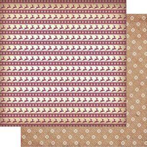 Papel-Scrapbook-Natal-Litoarte-305x305cm-SDN-103-Padrao-Renas