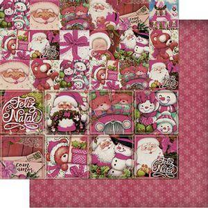 Papel-Scrapbook-Natal-Litoarte-305x305cm-SDN-104-Tags-Vintage