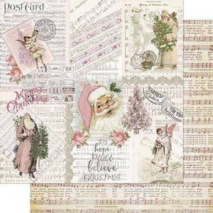 Papel-Scrapbook-Natal-Litoarte-305x305cm-SDN-111-Vintage-Rosa