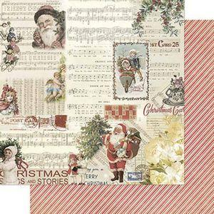 Papel-Scrapbook-Natal-Litoarte-305x305cm-SDN-112-Vintage