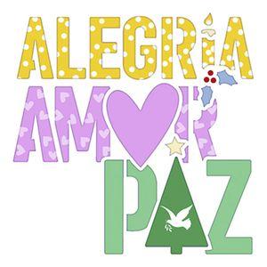 Stencil-Litoarte-Natal-9x9cm-Pintura-Simples-STNX-042-Alegria-Amor-Paz