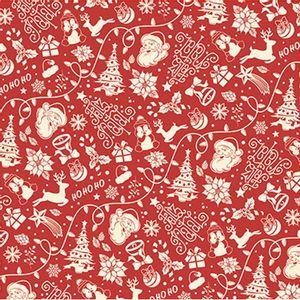 Papel-Scrapbook-Natal-Litoarte-305x305cm-SSN-006-Desenho-Natalino-Fundo-Vermelho