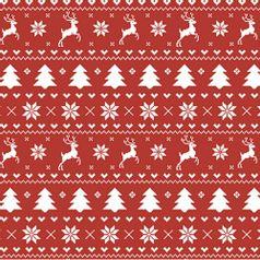 Papel-Scrapbook-Natal-Litoarte-305x305cm-SSN-008-Ponto-Cruz-Renas-com-Fundo-Vermelho
