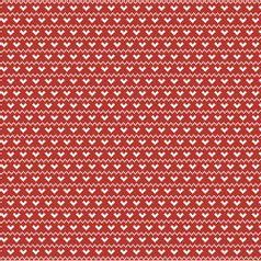 Papel-Scrapbook-Natal-Litoarte-305x305cm-SSN-009-Ponto-Cruz-Coracoes-com-Fundo-Vermelho