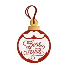 Placa-TAG-MDF-Decorativa-Natal-Litoarte-DHT4N-002-8x6cm-Bola-Boas-Festas