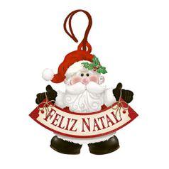 Placa-TAG-MDF-Decorativa-Natal-Litoarte-DHT4N-004-86x84cm-Papai-Noel-Feliz-Natal