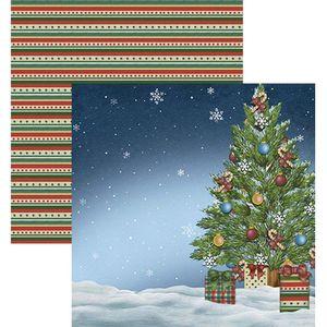 Papel-Scrapbook-Natal-Litoarte-305x305cm-SDN-010-Arvore
