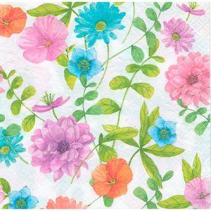 Guardanapo-Decoupage-Toke-e-Crie-GUA200423-2-unidades-Flores-Coloridas