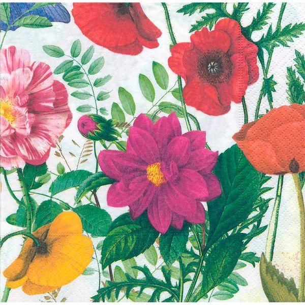Guardanapo-Decoupage-Toke-e-Crie-GUA200273-2-unidades-Flores-Tropicais