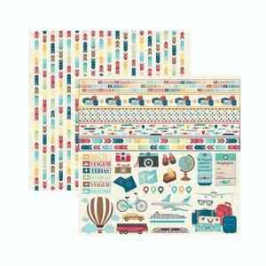 Papel-Scrapbook-Toke-e-Crie-SMB057-305x305cm-Viagem-Recortes-e-Faixas-By-Ivana-Madi