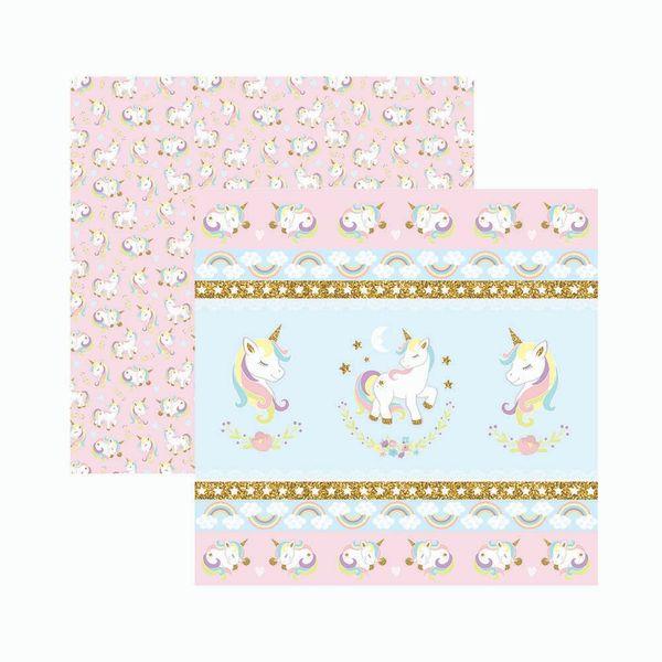 Papel-Scrapbook-Toke-e-Crie-SDF838-305x305cm-Unicornio-Fitas-e-Rotulos-By-Mariceli