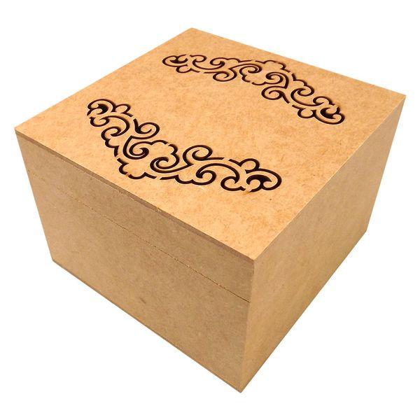 Caixa-Quadrada-em-MDF-com-Dobradica-e-4-Divisoes-Arabesco-20x20x105cm---Palacio-da-Arte