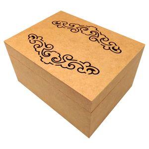 Caixa-Retangular-em-MDF-com-Dobradica-e-4-Divisoes-Arabesco-20x15x105cm---Palacio-da-Arte