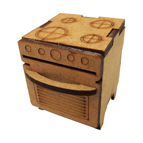 Fogao-Fechado-4-Bocas-Miniatura---MDF-a-Laser