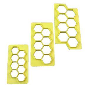 Jogo-Cortadores-Blue-Star-Geometrico-Hexagono-com-3-pecas