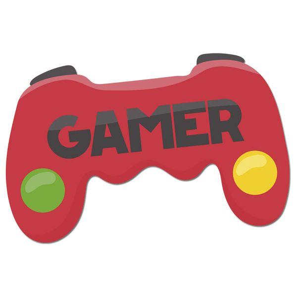 Aplique-Decoupage-Litocart-LMAPC-452-em-Papel-e-MDF-10cm-Controle-Videogame