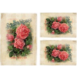 Papel-Decoupage-Litocart-LD-942-34x48cm-Belas-Rosas