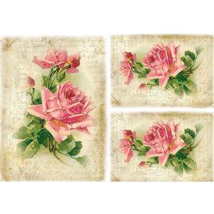 Papel-Decoupage-Litocart-LD-943-34x48cm-Rosas-e-Manuscrito