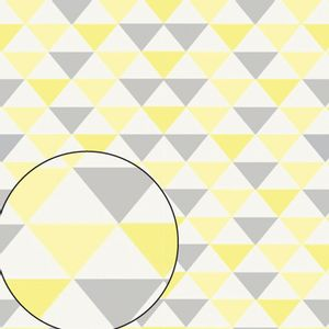 Papel-Scrapbook-Litocart-LSC-357-Simples-305x305cm-Triangulos-Amarelo-Cinza-e-Branco
