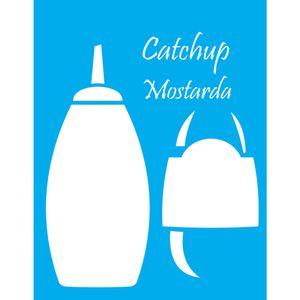 Stencil-Litocart-20x15cm-Pintura-Simples-LSM-103-Catchup-e-Mostarda