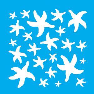 Stencil-Litocart-20x20cm-Pintura-Simples-LSQ-146-Estampa-Estrelas