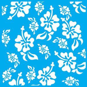 Stencil-Litocart-20x20cm-Pintura-Simples-LSQ-149-Estampa-Flores