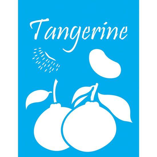 Stencil-Litocart-20x15cm-Pintura-Simples-LSM-107-Tangerina