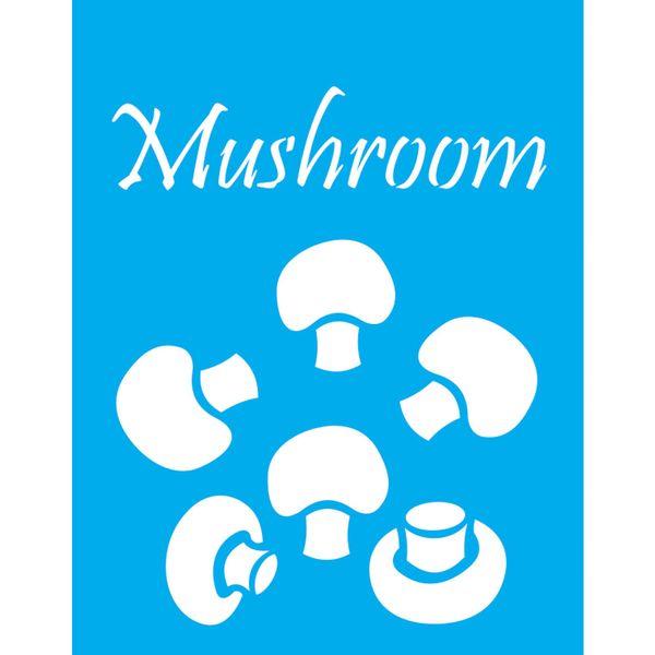 Stencil-Litocart-20x15cm-Pintura-Simples-LSM-112-Cogumelos