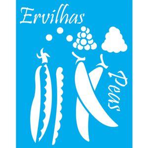 Stencil-Litocart-20x15cm-Pintura-Simples-LSM-115-Ervilhas