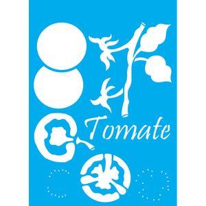 Stencil-Litocart-30x20cm-Pintura-Simples-LSS-027-Tomate