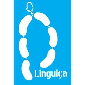 Stencil-Litocart-30x20cm-Pintura-Simples-LSS-036-Linguica