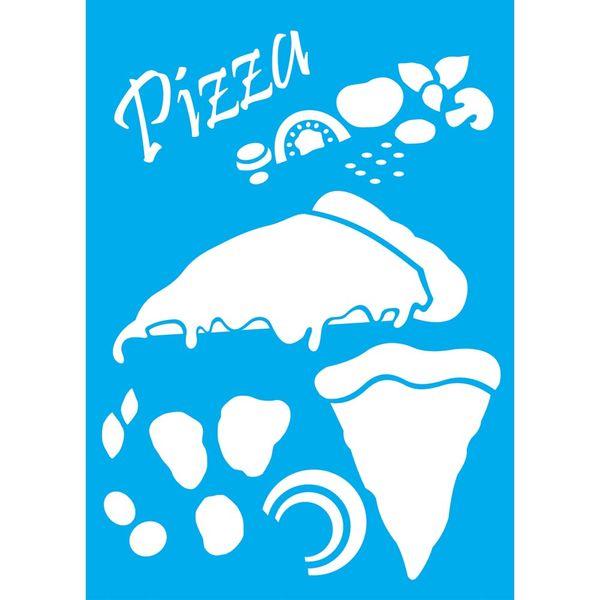 Stencil-Litocart-30x20cm-Pintura-Simples-LSS-044-Pizza
