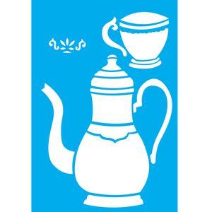 Stencil-Litocart-30x20cm-Pintura-Simples-LSS-055-Chaleira