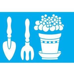 Stencil-Litocart-30x20cm-Pintura-Simples-LSS-057-Ferramentas-Jardinagem
