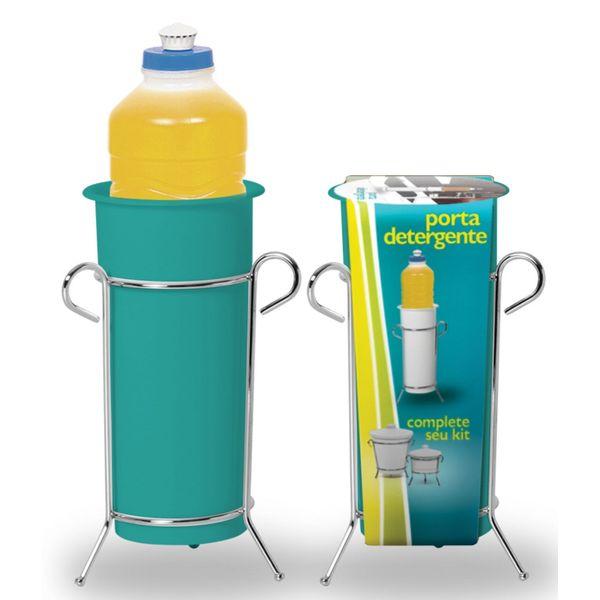 Porta-Detergente-com-Suporte-Niquelart-312-6-Turquesa