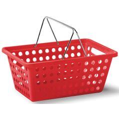 Cesta-Organizadora-com-Alca-n°2-Niquelart-359-5-Cromo-Colors-29x19x125cm-Vermelho