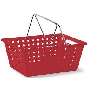 Cesta-Organizadora-com-Alca-n°3-Niquelart-360-5-Cromo-Colors-39x305x16cm-Vermelho