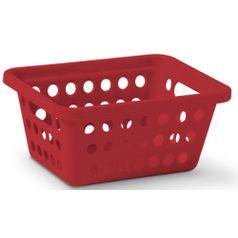 Cesta-Organizadora-sem-Alca-n°1-Niquelart-355-5-Cromo-Colors-21x155x9cm-Vermelha