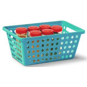 Cesta-Organizadora-sem-Alca-n°2-Niquelart-356-6-Cromo-Colors-29x19x125cm-Turquesa