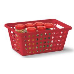 Cesta-Organizadora-sem-Alca-n°2-Niquelart-356-5-Cromo-Colors-29x19x125cm-Vermelho