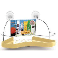 Porta-Shampoo-Cantoneira-Simples-Niquelart-305-11-Cromo-Colors-Aco-e-Plastico-Areia