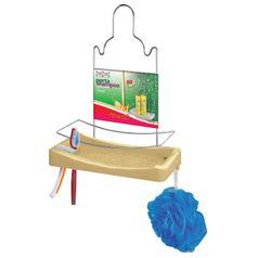 Porta-Shampoo-Simples-Niquelart-348-11-Cromo-Colors-Aco-e-Plastico-Areia