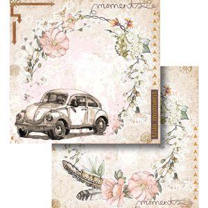 Papel-Scrapbook-Litocart-LSCD-440-Dupla-Face-305x305cm-Fusca